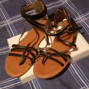 EUC Lane Bryant Sandals
